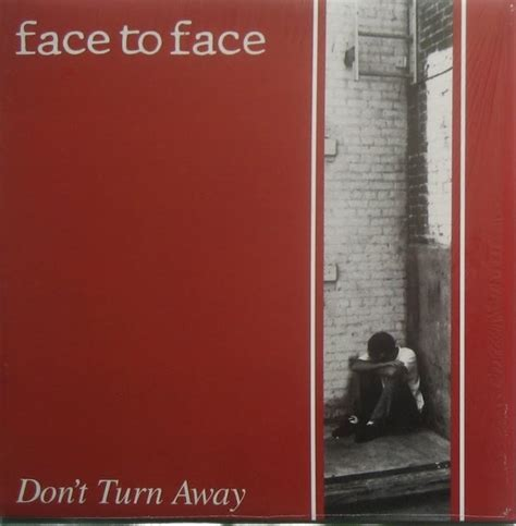 Face To Face - Don't Turn Away Colored Vinyl