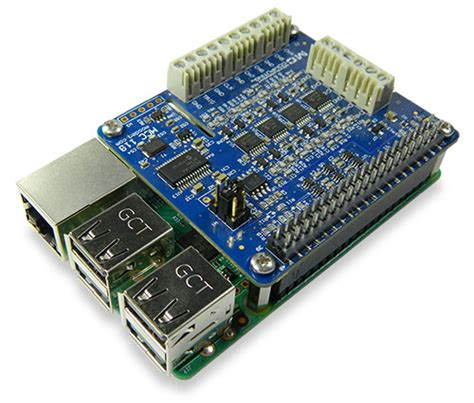 Voltage Measurement DAQ HAT for Raspberry Pi from