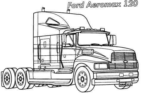 Coloring page - Ford Aeromaks 120