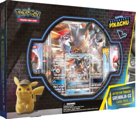 Detective Pikachu Getting its own Pokémon Trading Cards