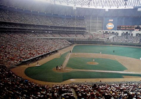 Astrodome - history, photos and more of the Houston Astros