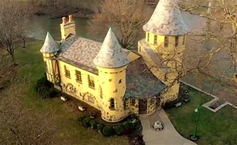 HISTORIC MICHIGAN: Curwood Castle in Owosso
