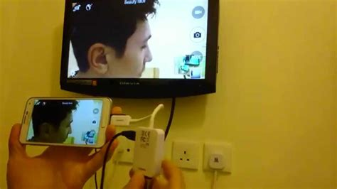 Galaxy S5 to HDTV using your HDMI/HDTV Adapter - YouTube