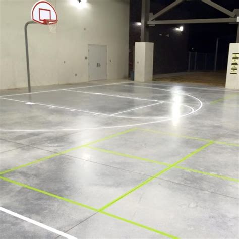 Fort Worth Athletic Court Marking | Dallas Basketball