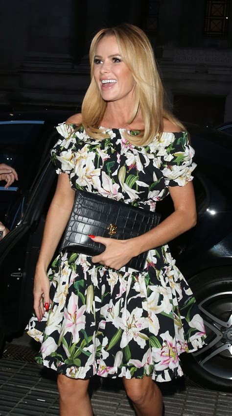 AMANDA HOLDEN Arrives at Syco Summer Party in London 07/04