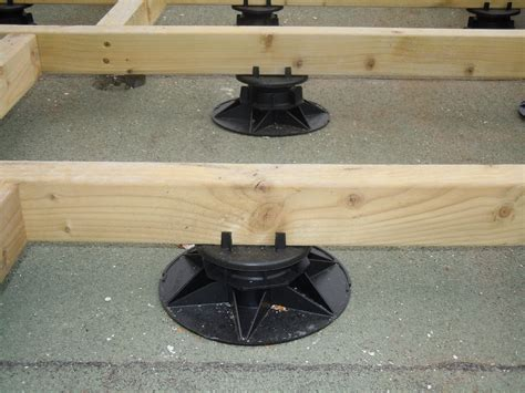 A great example of TD adjustable support pads - Wallbarn