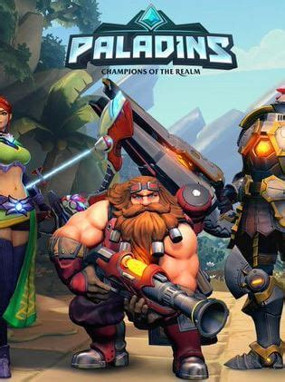 Paladins (PC, PS4, Xbox One) - Alle Infos zum F2P-Shooter