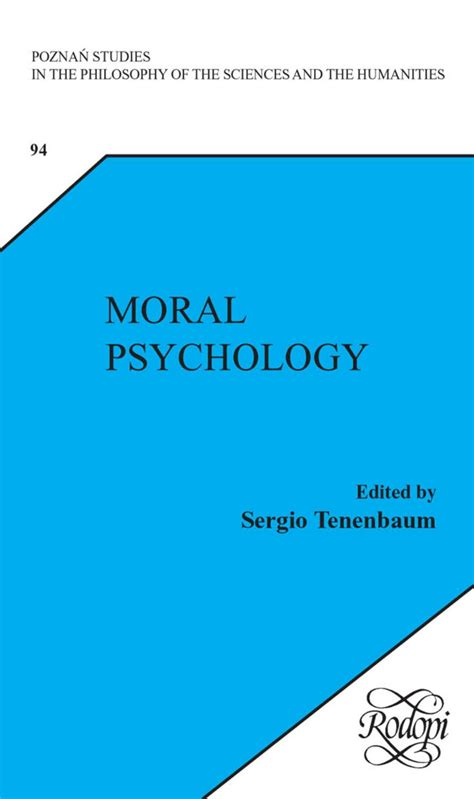 Poznan Studies in the Philosophy of the Sciences and the