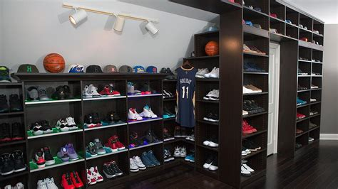 Are You Impressed by This NBA Player's Sneaker Closet