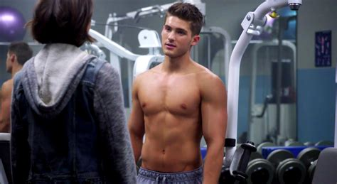 One Buff Beta: Cody Christian Gets Shirtless For Teen Wolf