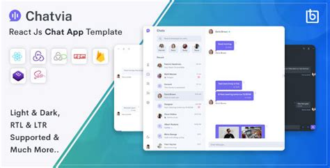 Free Download Chavia - React Chat App Template Nulled Latest