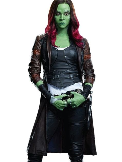 Guardians of the Galaxy 2 Gamora Coat   Guardians of the