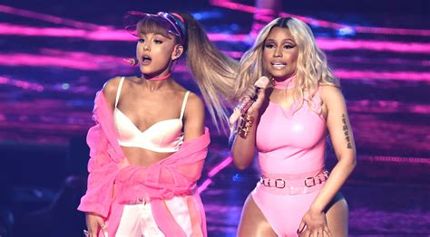 Ariana Grande Announces New Song 'Bed' featuring Nicki