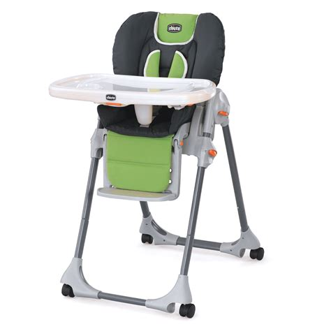 Chicco Polly 2 in 1 High Chair - Midori