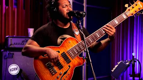"""Thundercat performing """"Them Changes"""" Live on KCRW - YouTube"""
