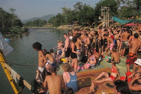 The Party's Over! The end of Tubing in Vang Vieng - South