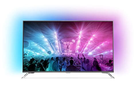 Ultraflacher 4K Fernseher powered by Android TV™ 55PUS7101